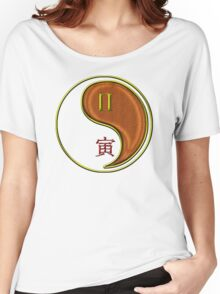 Gemini & Tiger Yang Wood Women's Relaxed Fit T-Shirt