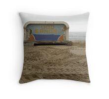 Lido, Margate, Kent Throw Pillow