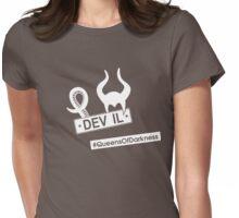 #QueensOfDarkness Womens Fitted T-Shirt