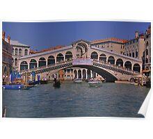 Rialto Bridge Venice Italy Poster