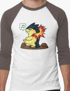 Typhlosion Men's Baseball ¾ T-Shirt