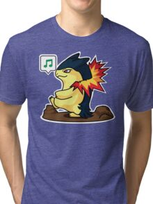 Typhlosion Tri-blend T-Shirt