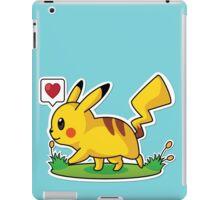 Male Pikachu iPad Case/Skin
