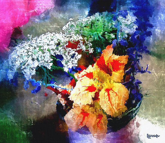 Conjuring Claude Monet by RC deWinter