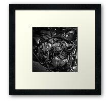 Classic Custom Motorcycles Framed Print