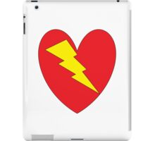 charged heart iPad Case/Skin