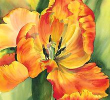 Flame Tulip by artbyrachel