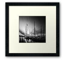 Tall Ship Stockholm Framed Print
