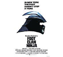 Stanley Kubrick's Foot Clan Ninja Photographic Print