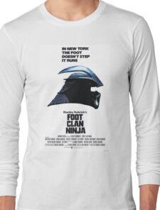 Stanley Kubrick's Foot Clan Ninja Long Sleeve T-Shirt