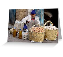EGG ENTREPRENEURS - MOROCCO Greeting Card