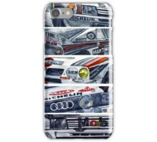 WRC is for boys, Group B was for men iPhone Case/Skin