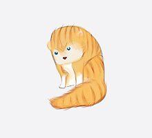 Wild grumpy cat  by Julie Duczynski