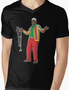 CaddyShaq Mens V-Neck T-Shirt