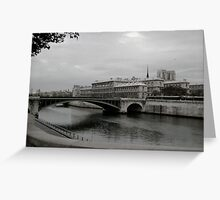 October Seine Greeting Card