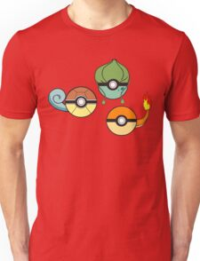 Choose Your Starter Red   Unisex T-Shirt