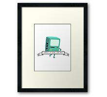 BMO - Gender is a Social Construct Framed Print