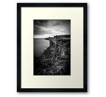 The Edge Of Creation Framed Print