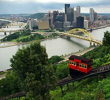 Pittsburgh Duquense Incline by James Parkes