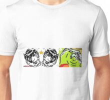 roughed up rough n ready ragged around the edges and rarin t go 2 Unisex T-Shirt