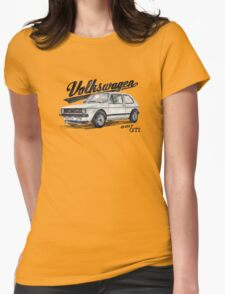 Volkswagen golf GTI Womens Fitted T-Shirt