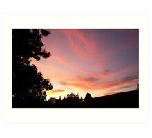 Its Another Tukwila Sunset Art Print