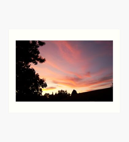 Its Another Tukwila Sunset Art Print