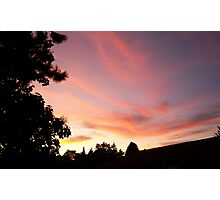 Its Another Tukwila Sunset Photographic Print