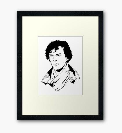 sherlock #1 Framed Print