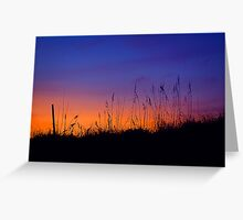 Topsail Sunset Greeting Card