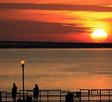Sunrise fishing by kathy s gillentine