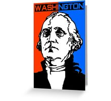 GEORGE WASHINGTON-3 Greeting Card