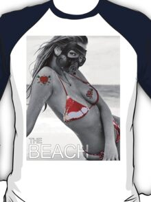 gass mask girl bikini summer sexy hot fresh blond swag dope trend trending satan spring nice fresh girl woman teen birthday cake panties wings devil hipster Nightlife girl eye woman wedding party T-Shirt