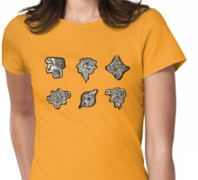 Broken Labyrinth Womens Fitted T-Shirt