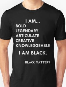 I AM BLACK T-Shirt