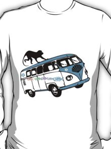 There's a Monkey on My Camper Van T-Shirt T-Shirt