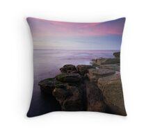 SUNSET AT ROCKY ISLAND Throw Pillow