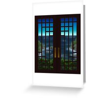 Going Out Your Door Greeting Card