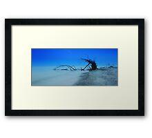 Stump Pass Beach Framed Print