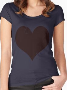 HEART! Women's Fitted Scoop T-Shirt
