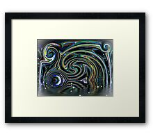 Night, In Its Own Time Framed Print