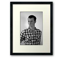 Shane Portrait Framed Print