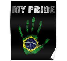 Brazil My Pride Poster