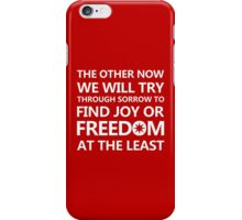 Silmarillion Design - quote of Feanor 1 iPhone Case/Skin