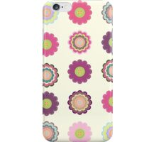 Flowers patch iPhone Case/Skin