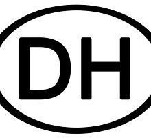 Grateful Dead DH Deadhead Euro Car Sticker by highbankspro