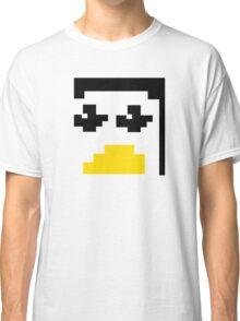 LINUX TUX PENGUIN PIXEL FACE  Classic T-Shirt