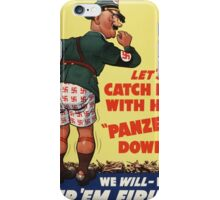 WW2 Vintage Propaganda Poster - Retro War iPhone Case/Skin