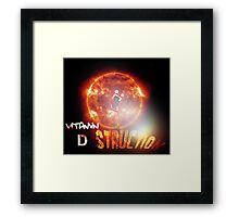 vitamin D-struction Framed Print