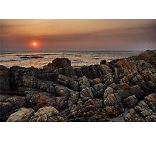 Sunset in Viana do Castelo Photographic Print